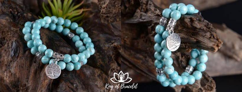 Bracelet Arbre de Vie Turquoise - King of Bracelet