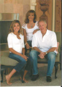 Ron and Marty Cordes, co-chairs of the Cordes Foundation, with daughter Stephanie.
