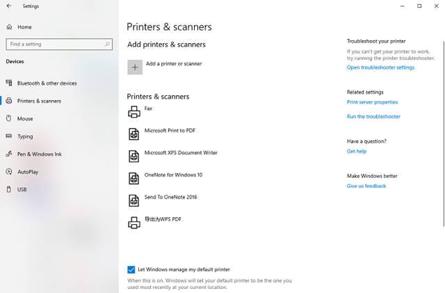 Connect a printer to a computer