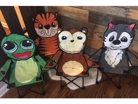Four Children's Outdoor Chairs