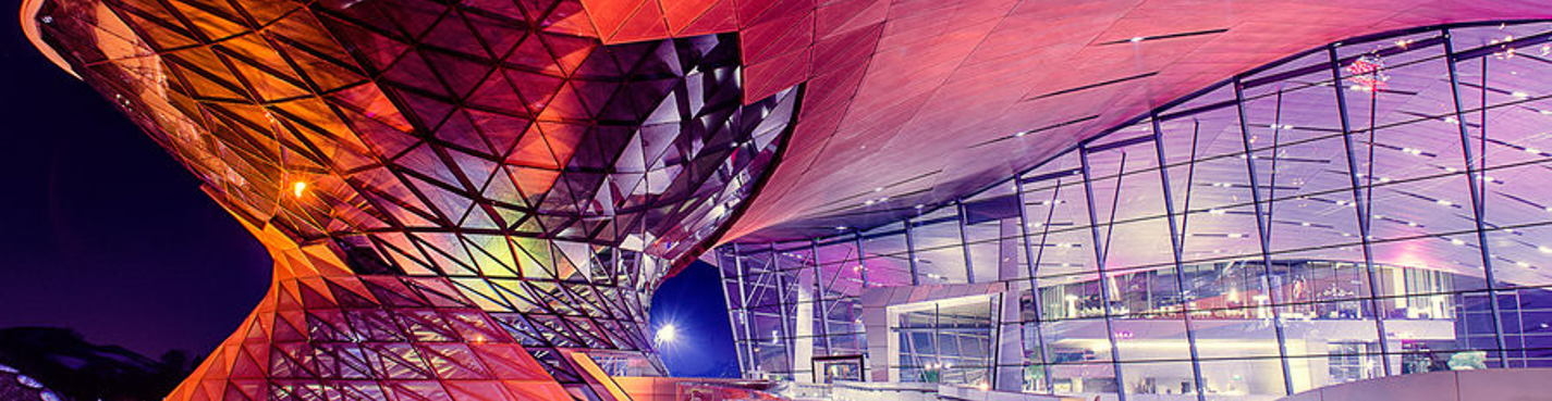 Олимпийская Башня и музей БМВ