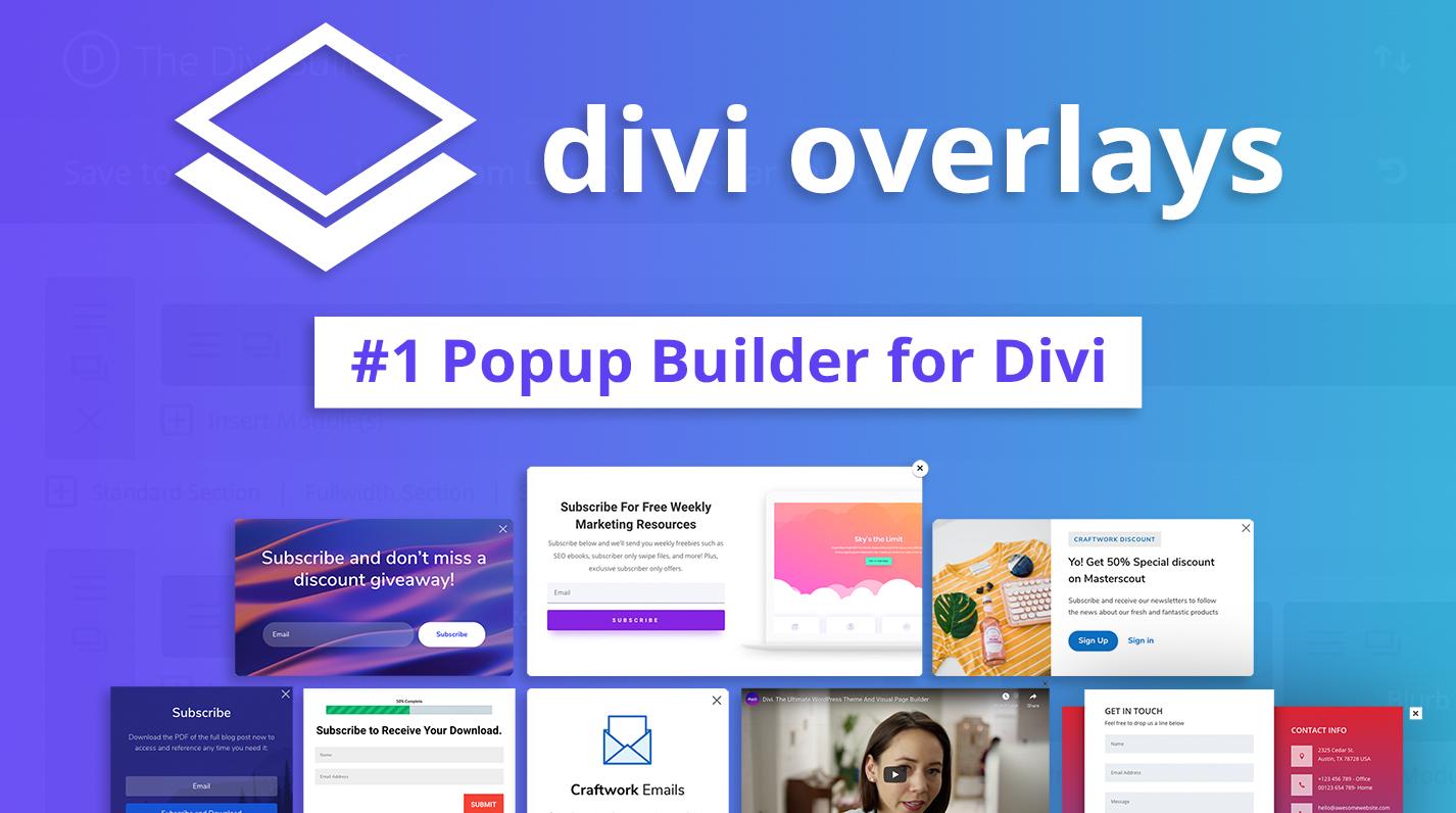 Divi Overlays Popups