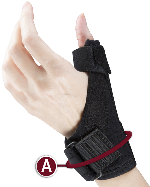 THUMB STABILIZER MEASURING LOCATION