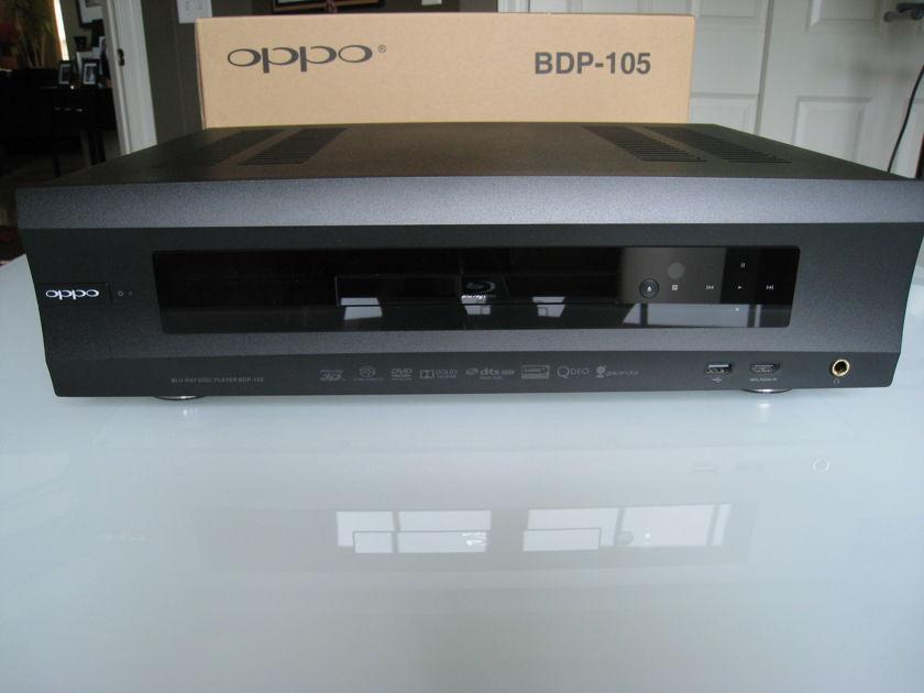 Oppo Digital BDP-105 Black Like New