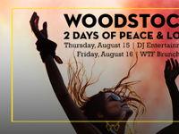صورة WOODSTOCK BRUNCH | TWO DAYS OF PEACE & LOVE