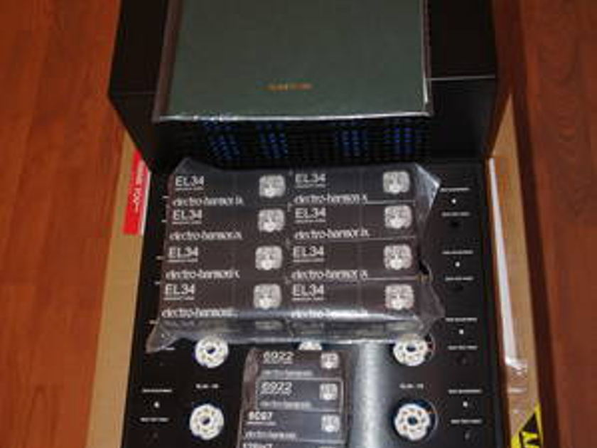 Canary CA-160 Mono Blocs 100/140 wpc triode/ultralinear