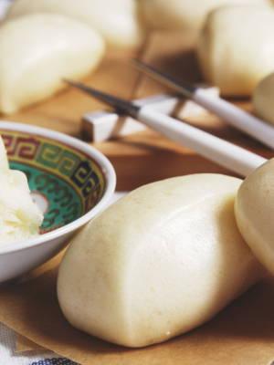 Gedämpfte Chinesische Brötchen