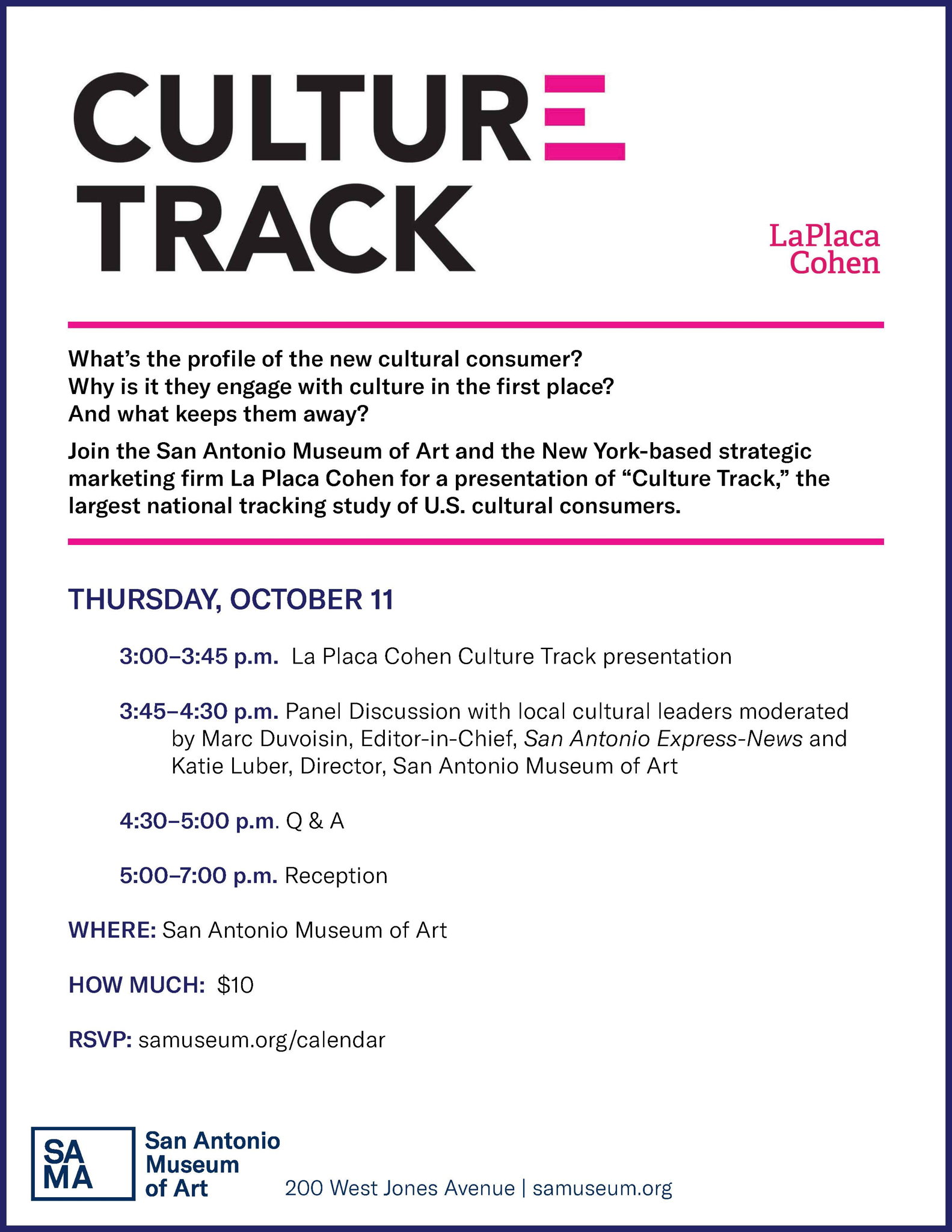 culture track flyer