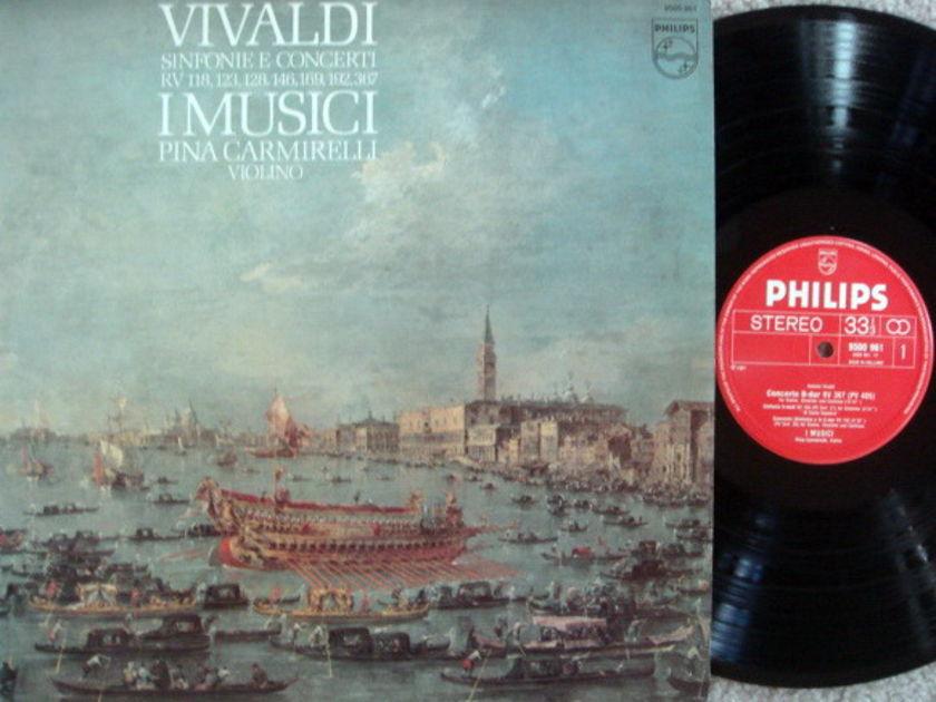 Philips / I MUSICI-CARMIRELLI, - Vivaldi Sinfonia & Concertos, NM!