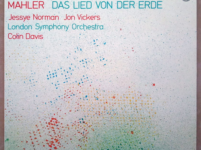 Philips Digital/Davis/Norman/Mahler - Das Lied von der Erde / NM