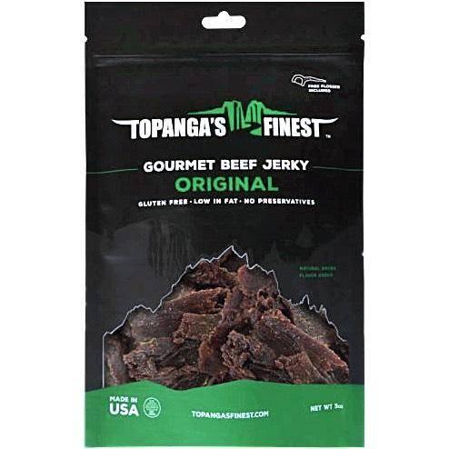 Topanga's Finest Original Gluten-Free Beef Jerky
