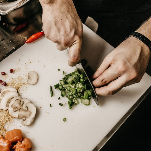Picture of If you've ever wanted to learn how to cook, this is the class for you! By following along, you'll learn all the fundamentals of cooking you need to create delicious meals.