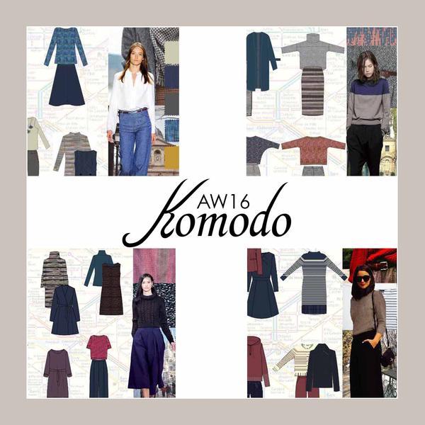 Komodo AW16 inspiration