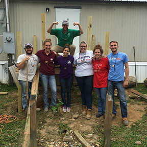 Brooks Leftwich Impacts Lives in Tennessee Cumberland Mountains