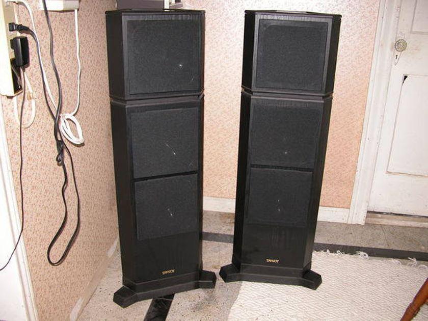 Tannoy 615 full range floor speakers