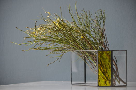 Авторский флорариум-ваза BUMBLEBEE