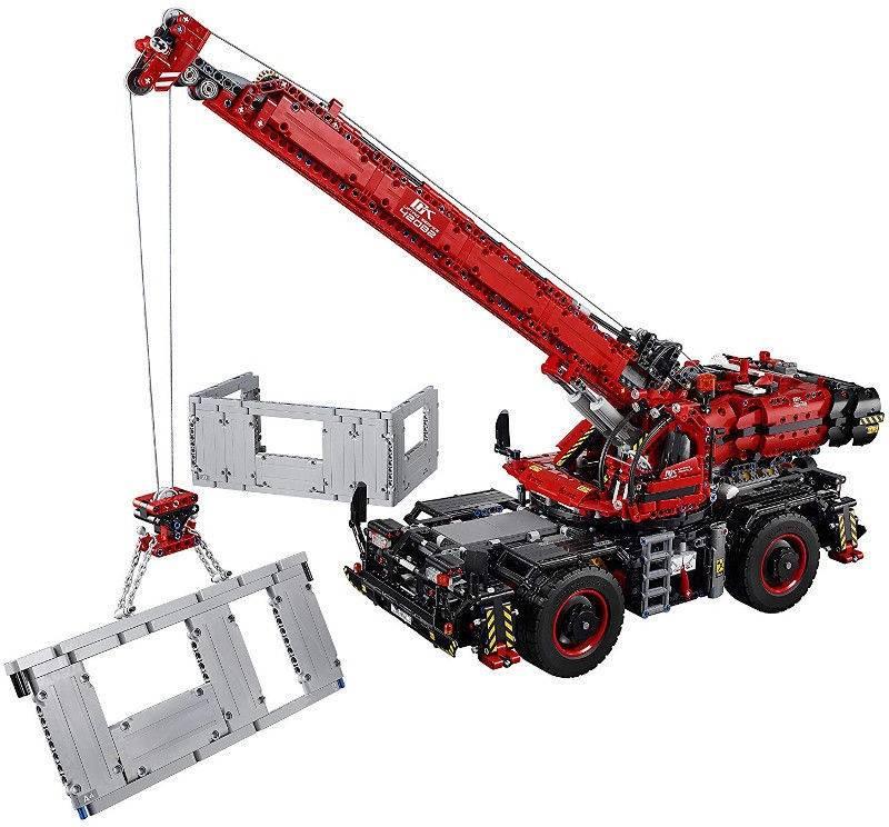 LEGO Rough Terrain Crane 42082