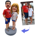 Best anniversary gift ideas - Custom Bobbleheads for couples