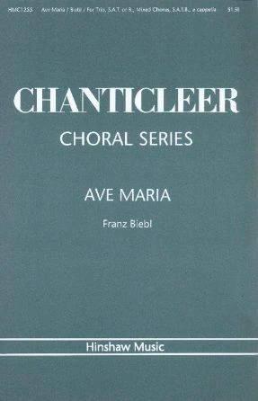 Ave Maria SATB+SAT - Franz Biebl