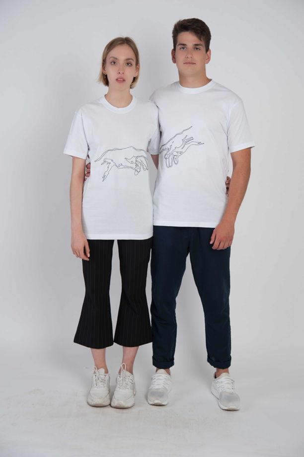 Парные футболки с вашим дизайном