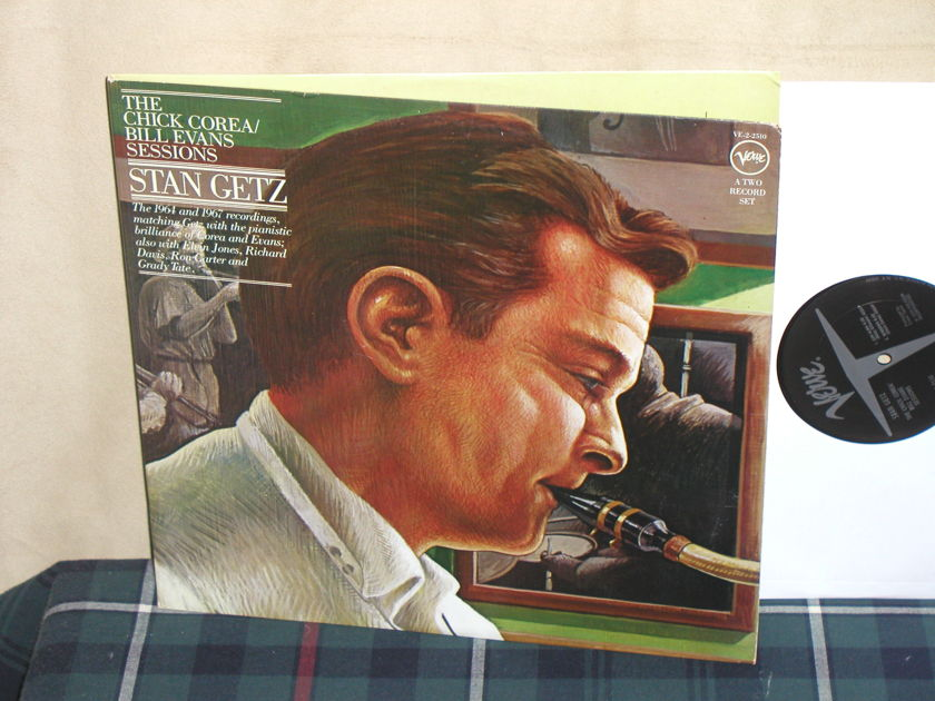 Stan Getz - Chick Corea/Bill Evans Sessions Verve 2LP set in Gatefold