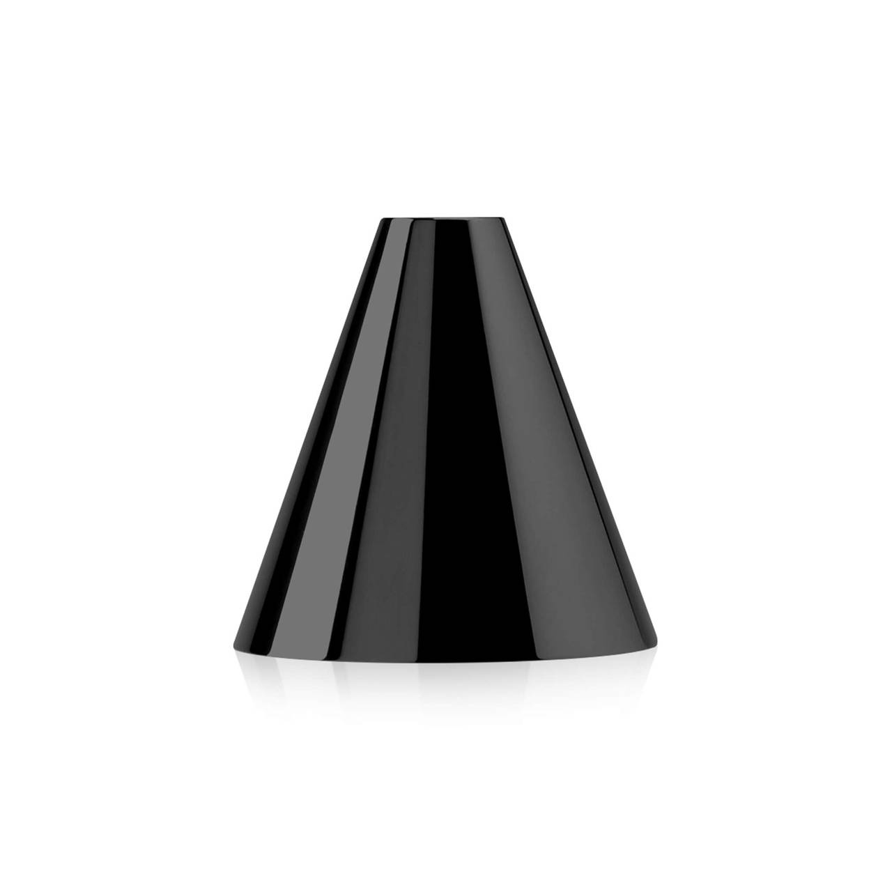Black Nickel plated A Candleholder