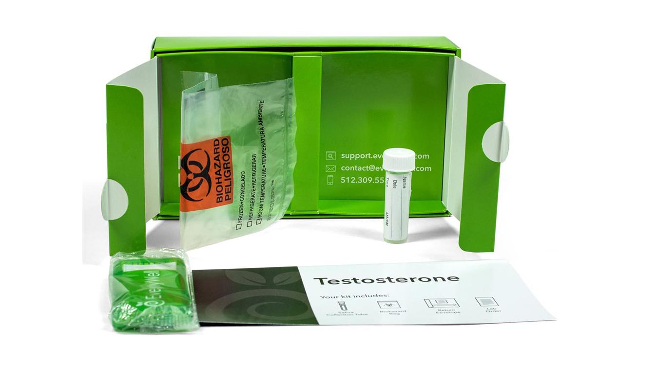 Testosterone test 4