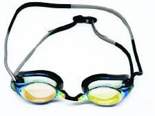 swim goggle with competition strps