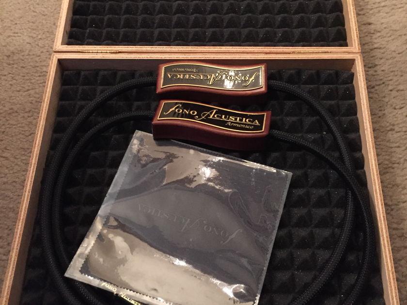 Fono Acustica  ARMONICO 1m RCA Mint customer trade-in