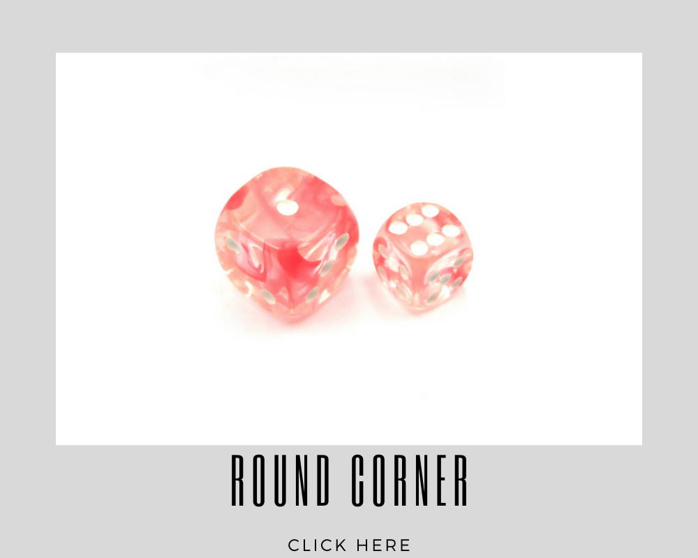 Corporate Round Corner Custom Dice