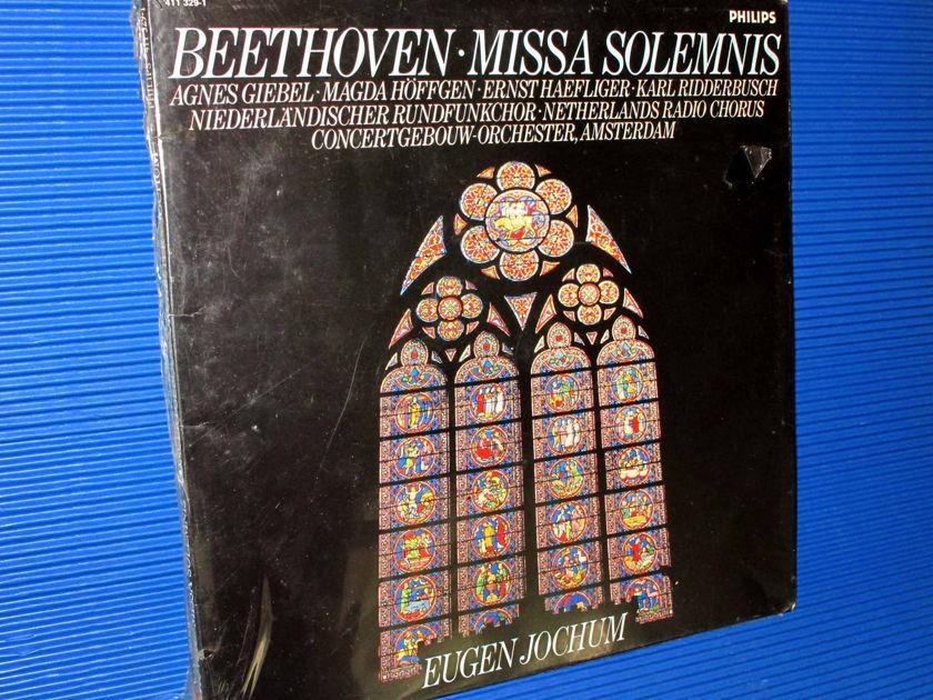 """BEETHOVEN / Jochum  - """"Missa Solemnis"""" -  Philips 1985 SEALED"""