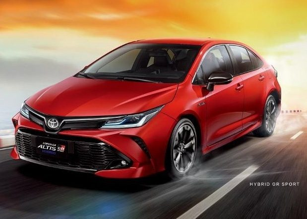 Toyota Corolla GR Ssport lateral
