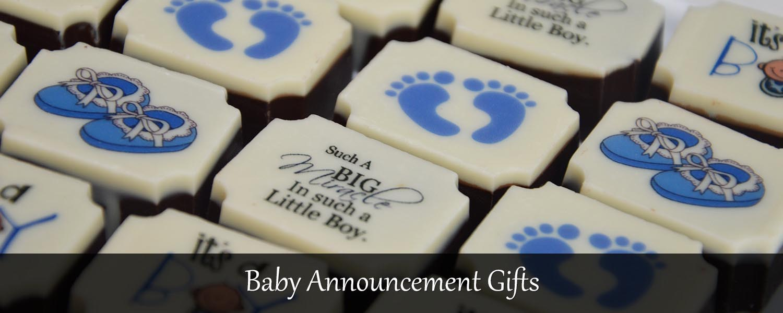 birth announcement gift