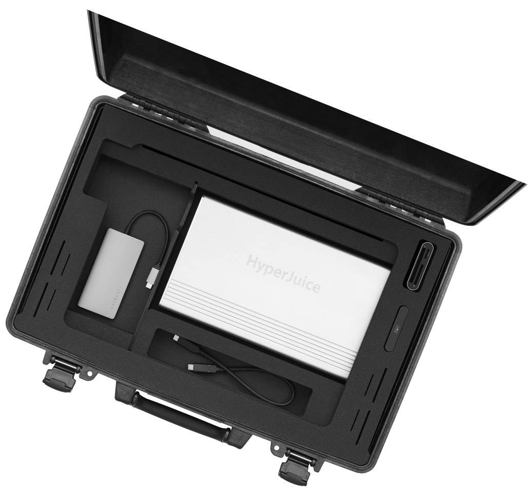 insight view of iworkcase with digital capture equipment