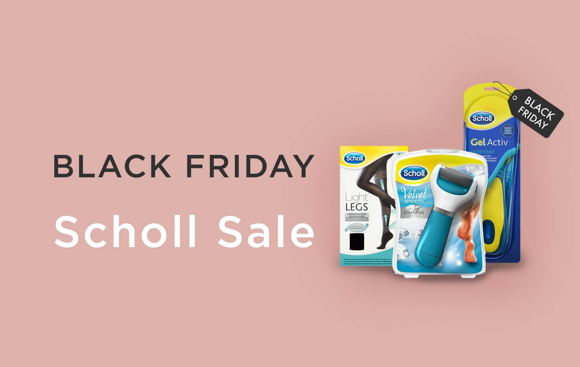 Scholl Black Friday Cyber Monday