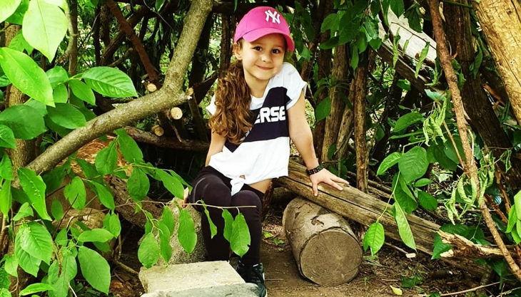 wildlife kids kind im wald ap