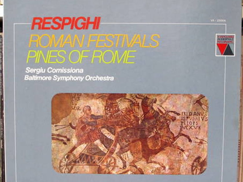 Respighi: Roman Fest - Pines of Rome vanguard digital