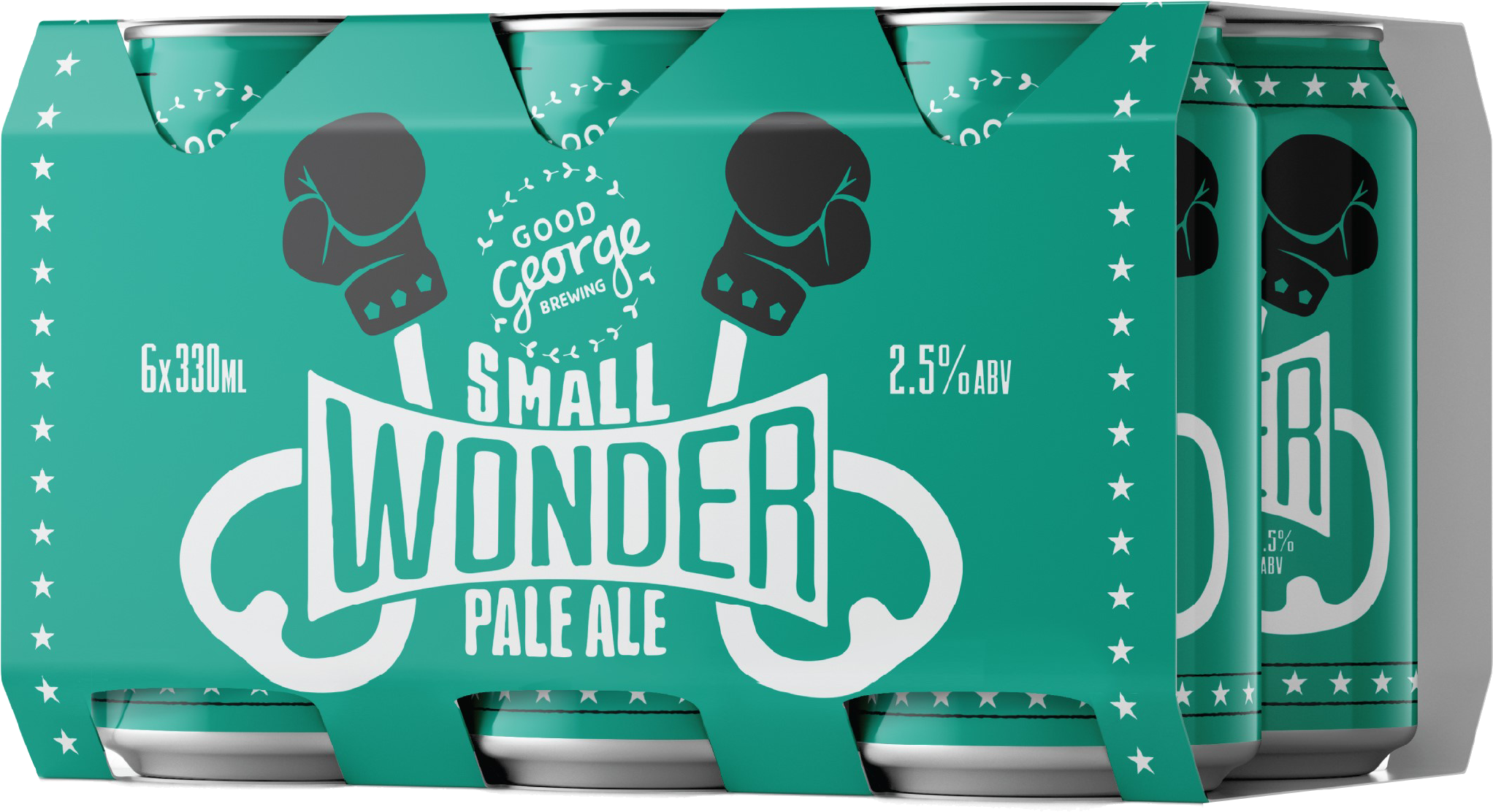 Good George Small Wonder Six Pack Cans