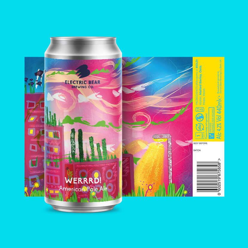 Werrrd American pale ale brand image