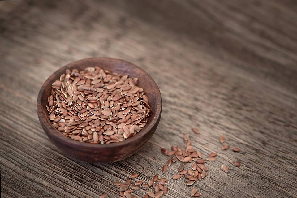 organic flax seeds to decrease risk of cancer, diabetes, heart disease, and stroke