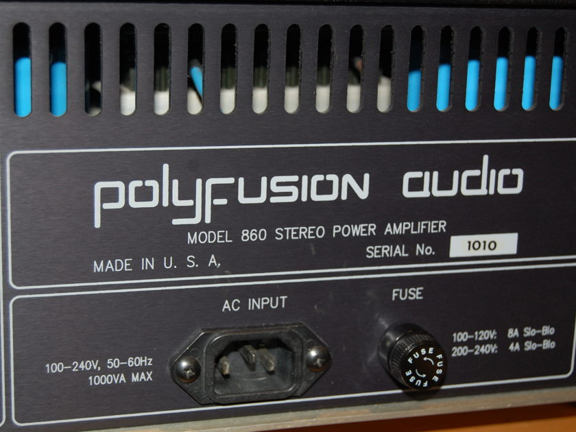 Polyfusion Audio  Model 860 Power Amp