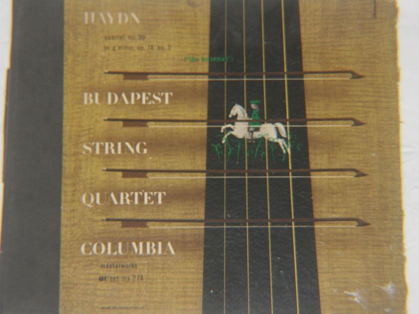 Budapest String Quartet - Haydn Quartet No. 30 Op. 74, No. 3 Masterworks Set MX-274
