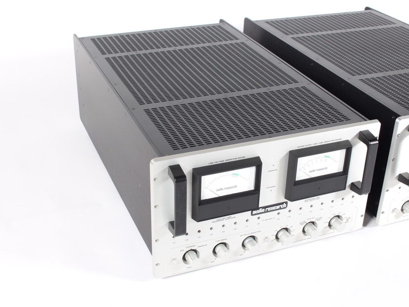 Audio Research Reference 600 Tube Monoblock Amplifiers