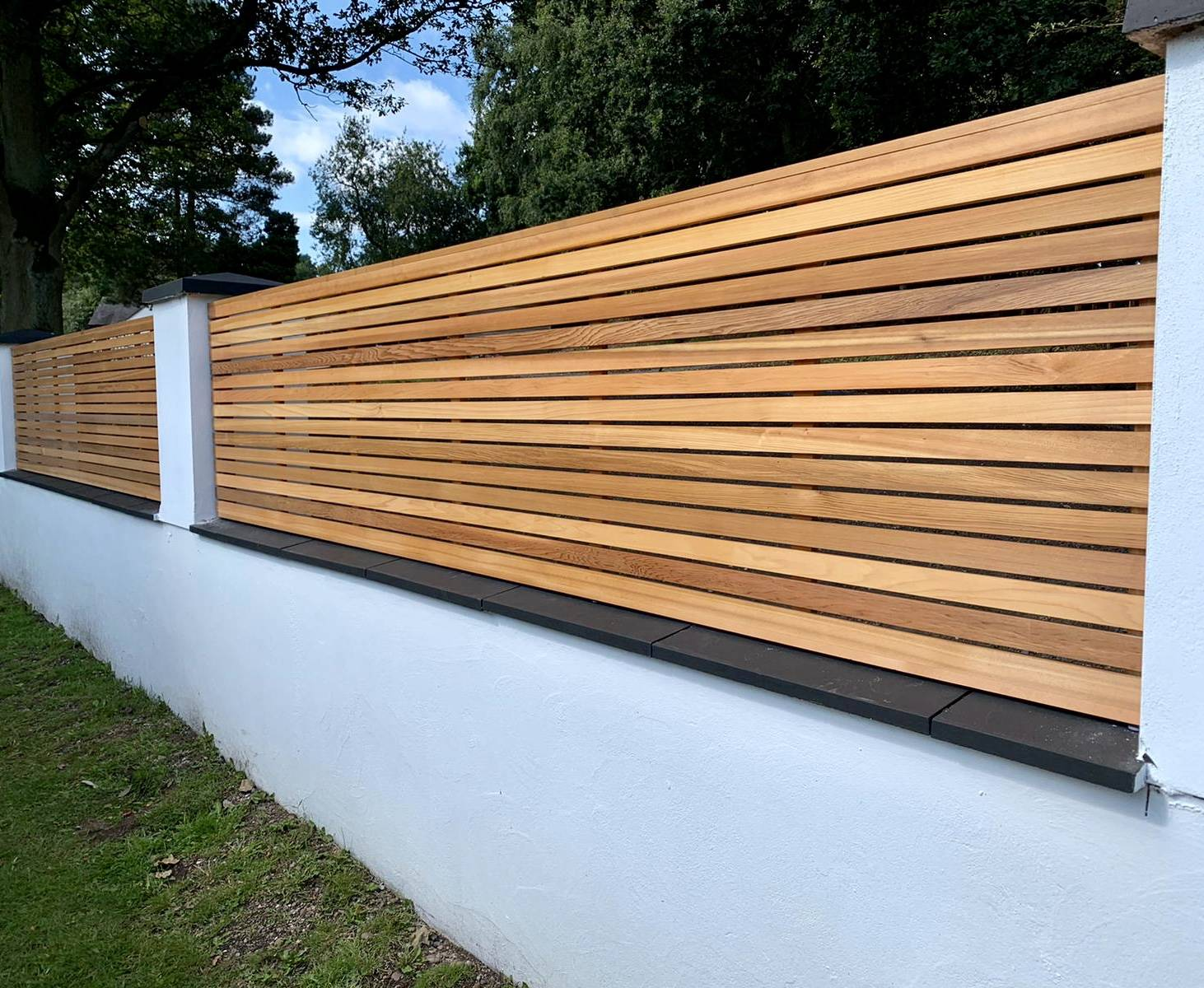 Contemporary Slatted Panel