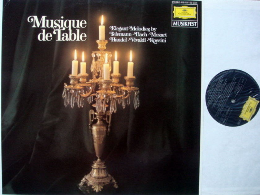 DG / Elegant Melodies by Telemann/ - Bach/Mozart/Handel, NM!