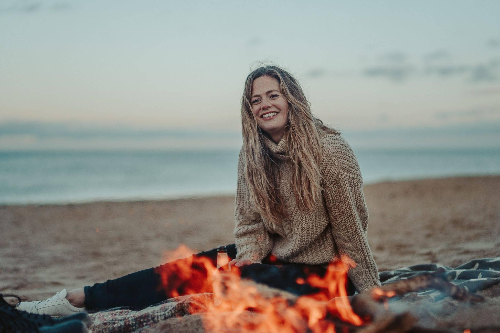 Image of women smiling