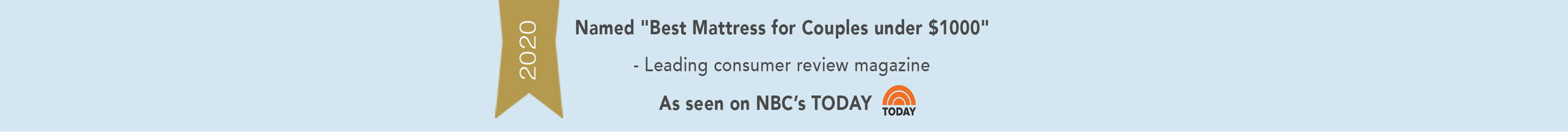 Today Show video link for Real Bed mattress named as best mattress for couples