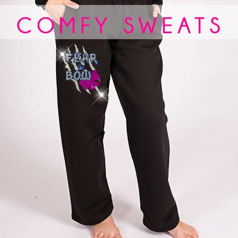glitterstarz bling basics custom rhinestone sweatpants black