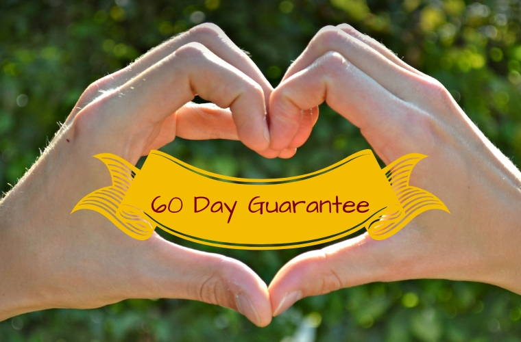 Clay Lotus 60-day guarantee