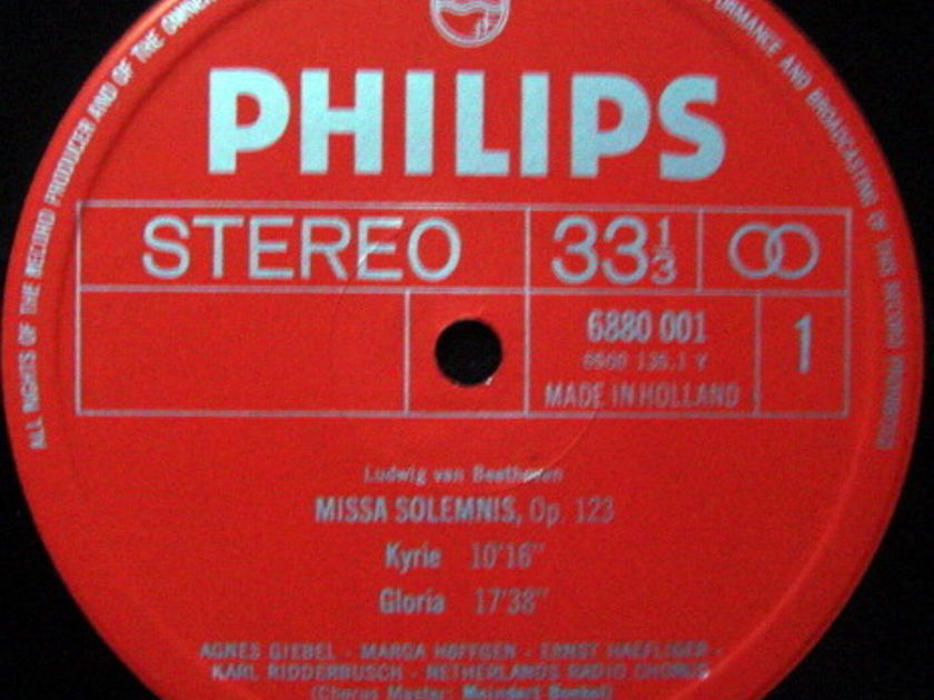 Philips / JOCHUM, - Beethoven Missa Solemnis,  NM, 2 LP Set!